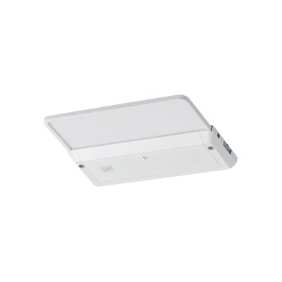 Self-Contained Glyde LED Under Cabinet Bar Light Finish: White