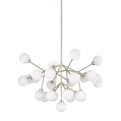 Penwell Sputnik Chandelier Finish: Satin Nickel