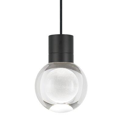 Pipkins 1-Light Globe Pendant Finish: Black