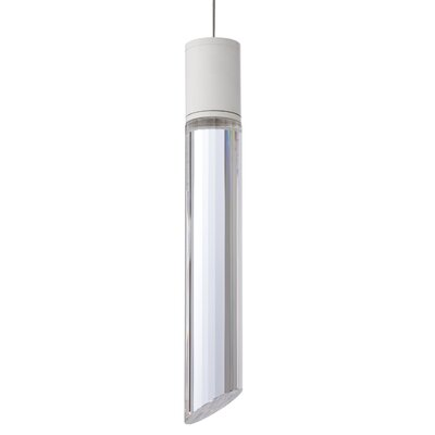 Pinegar 1-Light Mini Pendant Finish: White