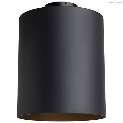 Perdomo LED Flush Mount Fixture Finish: Matte Black