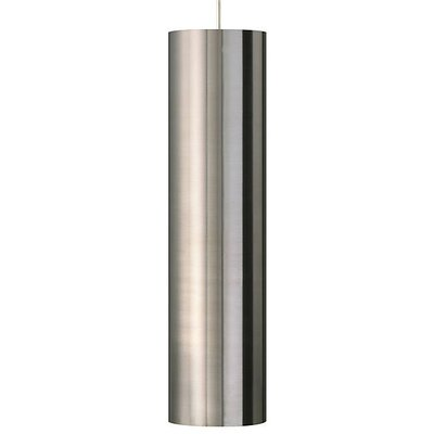 Pinter 1-Light Geometric Pendant Finish: Satin Nickel, Shade Color: Satin Nickel