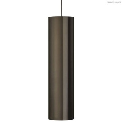 Pickard 1-Light LED Mini Pendant Finish: Antique Bronze/Antique Bronze