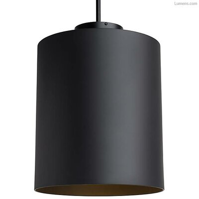 Perdomo 1-Light LED Mini Pendant Finish: Matte Black
