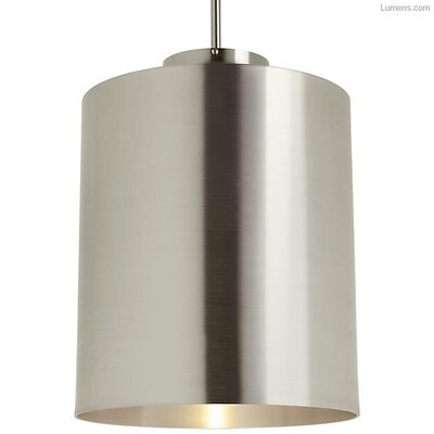 Perdomo 1-Light LED Mini Pendant Finish: Brushed Aluminum