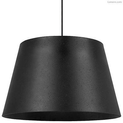 Pickell 1-Light LED Mini Pendant Shade Color: Black