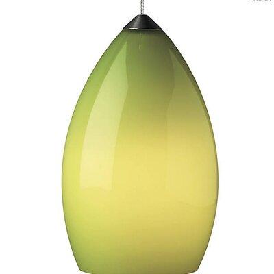 Pharris 1-Light Mini Pendant Shade Color: Chartreuse