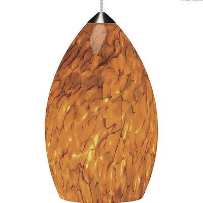 Phifer 1-Light Mini Pendant Shade Color: Tahoe Pine Amber