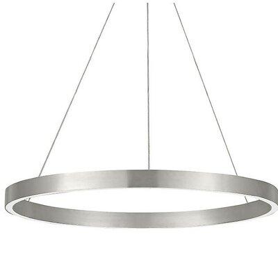 Philips Suspension LED Geometric Pendant Finish: Satin Nickel