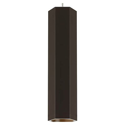 Brice 1-Light Mini Pendant Finish: Antique Bronze/Antique Bronze, Size: 22.5 H x 3.2 W x 3.2 D