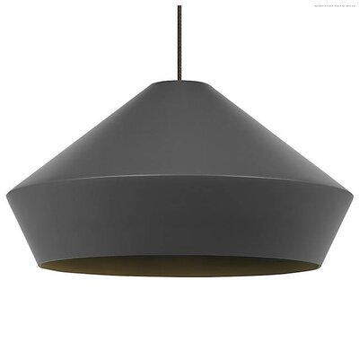 Gorden Inverted Pendant Shade Color: Matte Charcoal Gray