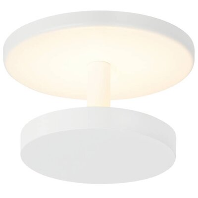 Penton Semi LED Flush Mount Fixture Finish: White