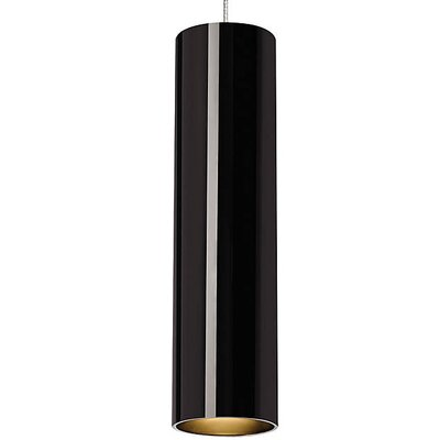 Philpott 1-Light Mini Pendant Finish: Black/Satin Nickel