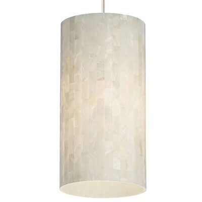 Hanke 1-Light Mini Pendant Finish: Antique Bronze, Shade Color: White