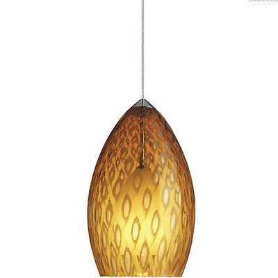 Picard 1-Light Mini Pendant Finish: Chrome