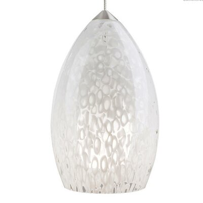 Picard 1-Light Mini Pendant Finish: Satin Nickel