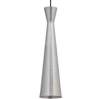 Philson 1-Light Mini Pendant Shade Color: Satin Nickel