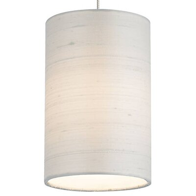 Hankerson 1-Light Mini Pendant Shade Color: White