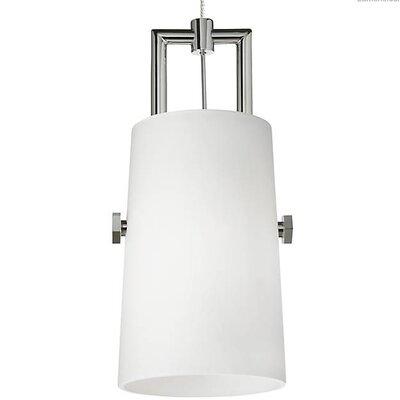 Brickey 1-Light Mini Pendant Shade Color: White