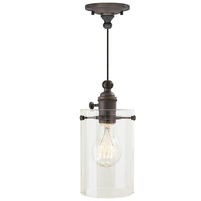 Demartini 1-Light Mini Pendant Finish: Antique Bronze