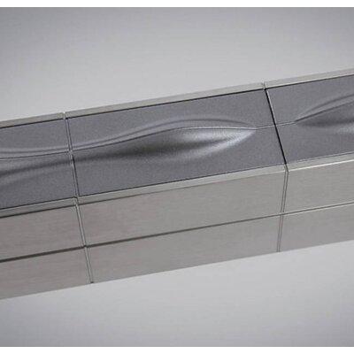 Pinard Linear Suspension Geometric Pendant Finish: Satin Nickel