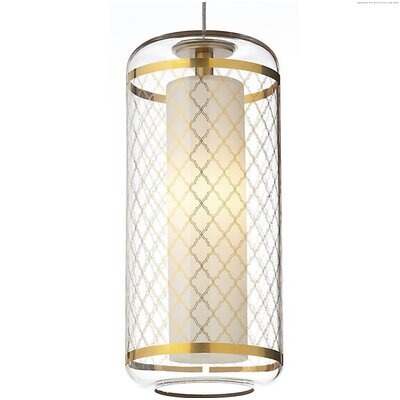 Spirgel 1-Light Mini Pendant Finish: Clear-Polished Gold