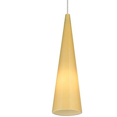 Pinson 1-Light Mini Pendant Finish: Satin Nickel
