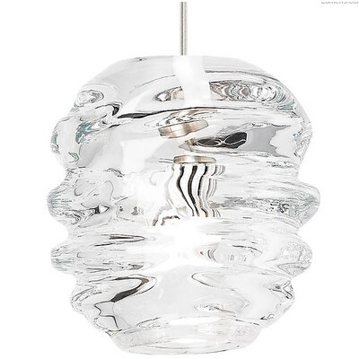 Petties 1-Light Geometric Pendant Finish: Satin Nickel