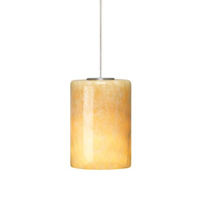 Cabo 1-Light Mini Pendant Finish: Satin Nickel, Bulb Type: 1 x 8W LED