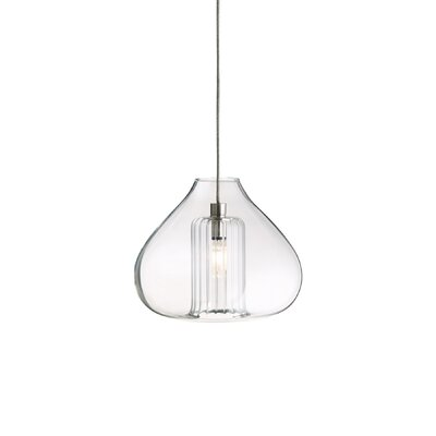 Cheers 1-Light Mini Pendant Finish: Satin Nickel