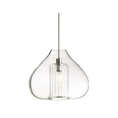 Cheers Monopoint 1-Light Mini Pendant Finish: Satin Nickel