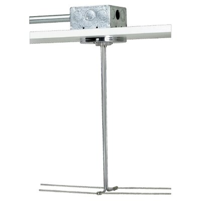 "Kable Lite 4"" Round Single Feed Canopy Finish: Satin Nickel"