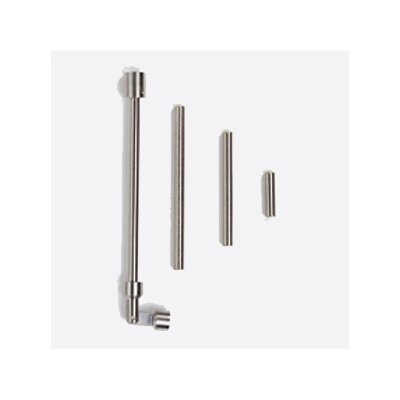 MonoRail Standoff Vault Sloped Ceiling Adapter Finish: Chrome
