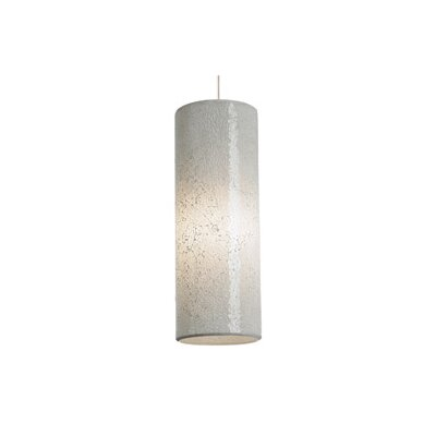 Veil 1-Light Mini Pendant Finish: Satin Nickel, Shade Color: White, Bulb Type: 1 x 8W LED