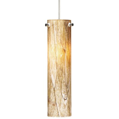Silva 1-Light Mini Pendant Finish: Chrome, Bulb Type: Halogen