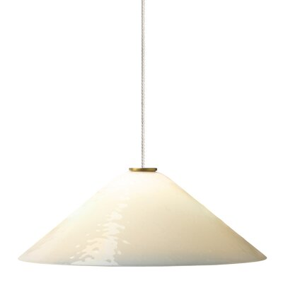 Larkspur 2-Light Mini Pendant Finish: Chrome, Shade Color: White