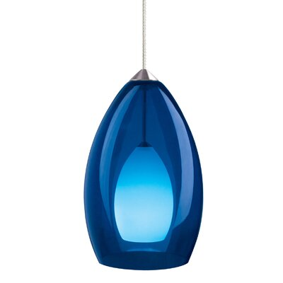 Fire Monopoint 1-Light Mini Pendant Finish: Chrome
