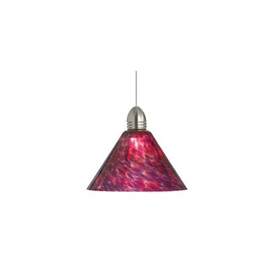Torpedo 1-Light Globe Pendant Finish: Satin Nickel