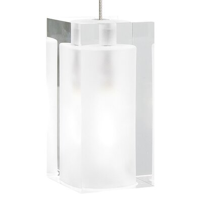Pilla 1-Light Mini Pendant Finish: Satin Nickel