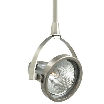 John 1-Light Track Head Finish: Satin Nickel, Length: 24, Mounting Type: Freejack