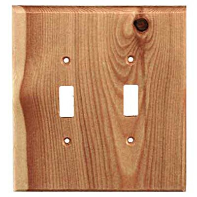 Traditional 2 Toggle Unfinished Color: Douglas Fir