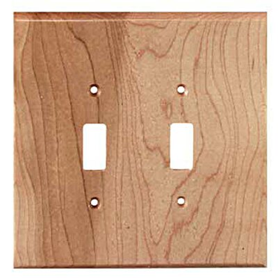Traditional 2 Toggle Unfinished Color: Natural Maple