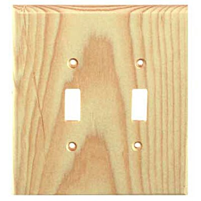 Traditional 2 Toggle Unfinished Color: Knotty Pine