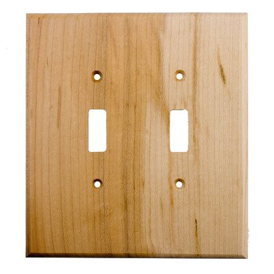 Traditional 2 Toggle Unfinished Color: Rustic Hickory