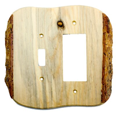 Rustic - Toggle / Rocker Finish: Blued Pine