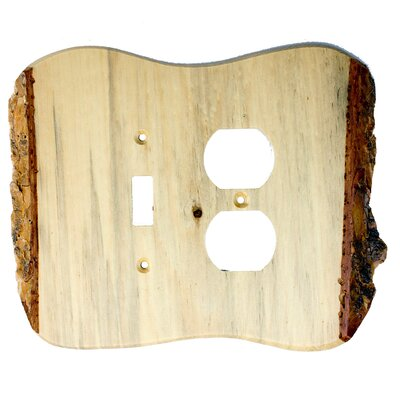 Rustic Toggle/Duplex Finish: Blued Pine