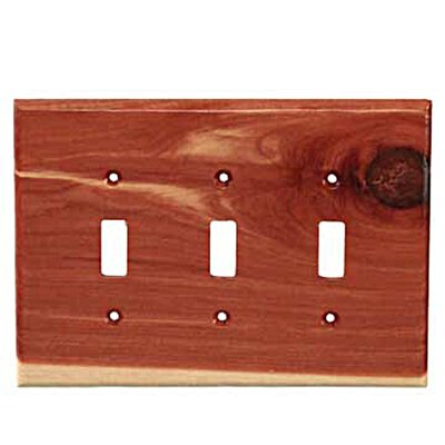 Traditional 3 Toggle Unfinished Color: Tennessee Aromatic Cedar