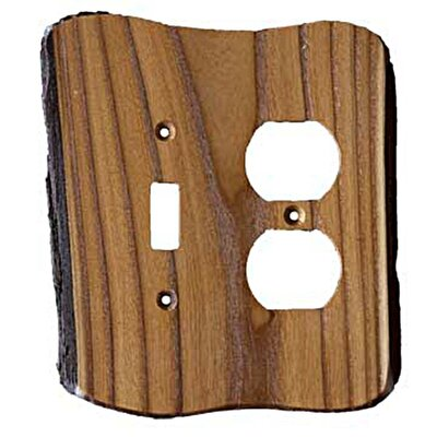 Rustic Toggle/Duplex Finish: Russian Olive