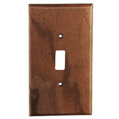 Traditional - 1 Toggle Unfinished Color: Black Walnut