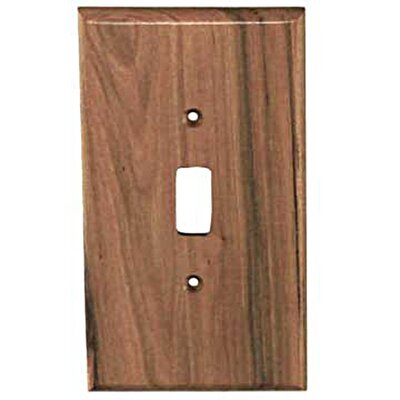 Traditional - 1 Toggle Unfinished Color: Rustic Hickory